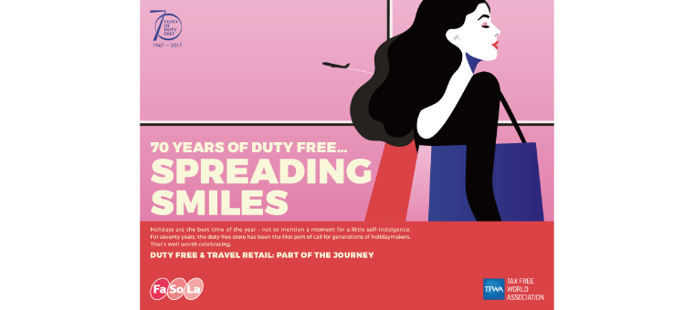 70 YEARS OF DUTY FREE...SPREADING SMILES